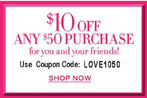 $10.00 off any $50.00 and over purchase!