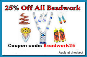 25% off beadwork