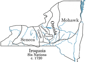 Iroquois Confederacy Map