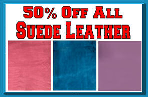 50% Off Suede Leather