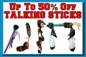 Up to 50% Off Talking Sticks