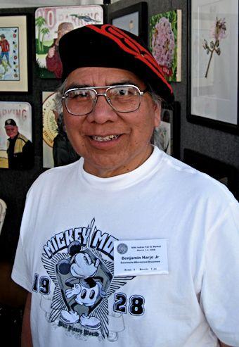 Benjamin Harjo, Jr, artist