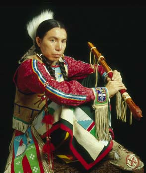 Bryan Akipa, Dakota Sioux flutist