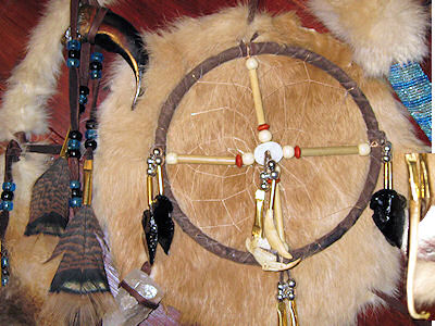 details of gourd dance rattle medicine wheel medicine shield