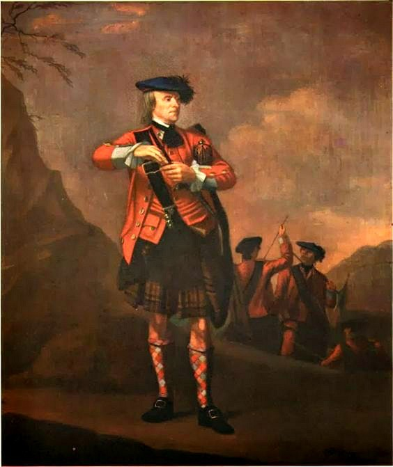 A Pinch of Snuff, Delacour, c.1760. Depicting Malcolm MacPherson of Phoness who, at the age of 67 joined the 78th Foot as a Gentleman Volunteer. MacPherson distinguished himself at the Battle of Quebec in 1759 and the following year was presented to King George II.