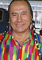 actor and activist, Russell Means