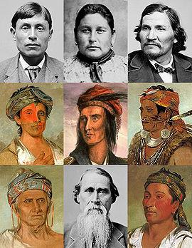 Shawnee portraits