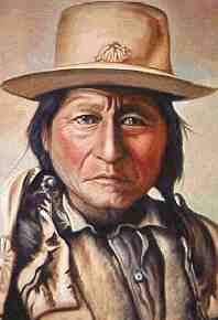 picture of Chief Sitting Bull in his prime