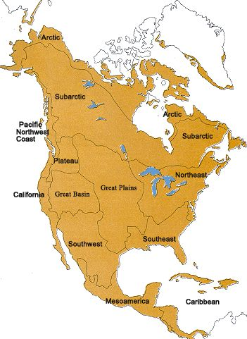 Great Basin Indians AAA Native Arts - Map of native american reservations in the us