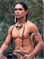 Zahn McClarnon photo from Into the West mini series