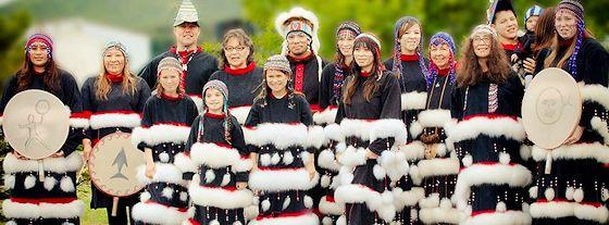 Alutiiq dancers