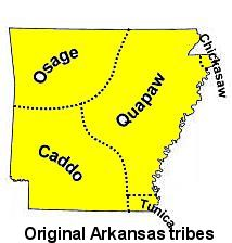 arkansas tribes map