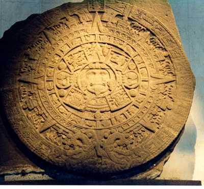 Aztec calendar - sun stone - Ancient native american civilizations ...