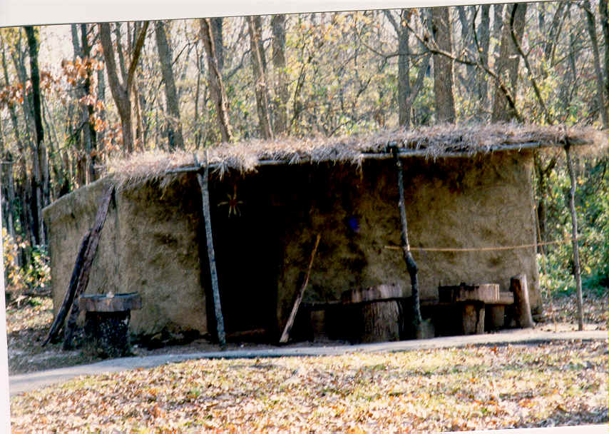 The Winter House Cherokee Indians Homes