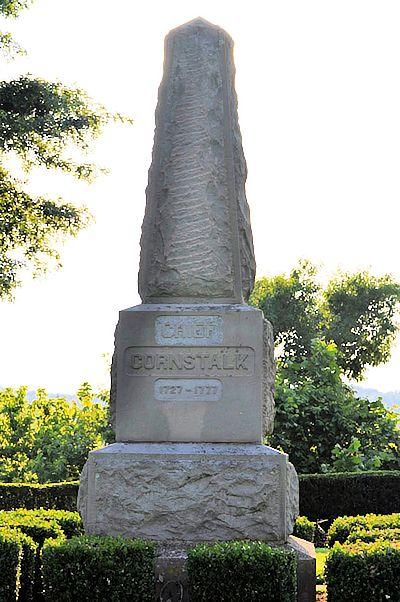 Grave Monument of Chief Cornstalk, Shawnee