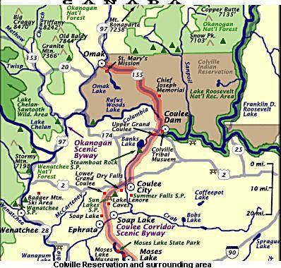 colville reservation map