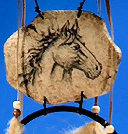 horse double dream catcher