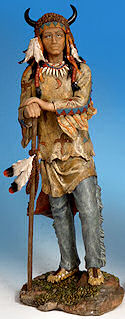 Buffalo Headdress Indian