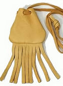 "2""x2"" Small Fringed Medicine Bag"