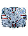 Four Directions Eagle Belt Buckle