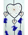 Purple Four Hearts Dreamcatcher
