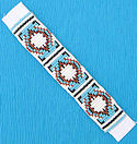 Beaded Decorative seed bead strip