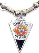 Chicago Bears Licensed NFL Logo Necklace
