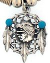 Eagle Dream Catcher Necklace