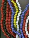 1 Kilo Mixed Colors India Glass Crow Beads