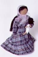 This is a doll girls played with
