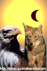 Coyote and Eagle Steal the Sun and Moon