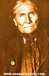Geronimo in his last years