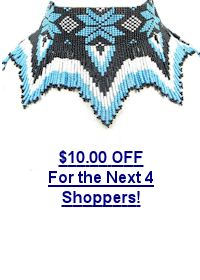 $10.00 off this beaded necklace for the next 4 shoppers!