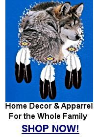 Eagle Feather Wolf T-shirt