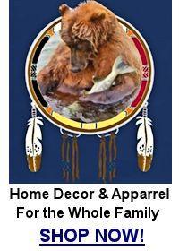 Fishing Bear Shield T-Shirt