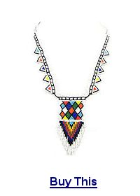 Buy this beaded necklace!