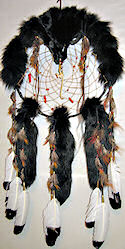 Black Fox Dream Catcher