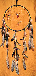 Black Guinea Dream Catcher