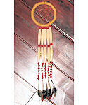 2 Tier Hairpipe Made in USA Dreamcatcher Ornament
