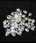 50 Clear Quartz Gemstone Chip Beads