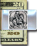 Cowboy & Horse Money Clip