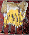 Coyote Long Fringed Buckskin Quiver