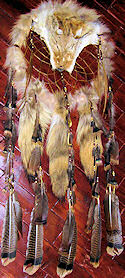 Coyote Dream Catcher Medicine Shield