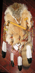 Coyote Tomahawk and Brown Rabbit Medicine Shield