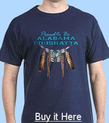 Alabama-Coushatta T-shirt for sale