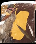 Gallon Bag of Small Leather Scraps, Fur & Feathers
