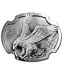 Eagle Landing Belt Buckle