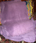 5.9 Sq Ft Lavender Suede Leather