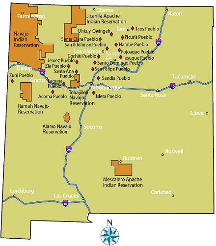 American Indian Reservations In New Mexico