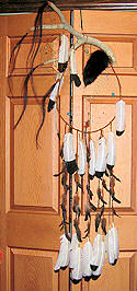 double antler dreamcatcher